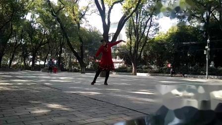 孝感晨练广场舞(三种跳法)《父亲的草原母亲的河》