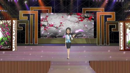 vMix专用虚拟集 演播室场景戏曲文化艺术产品发布舞台表演主持人抠像背景