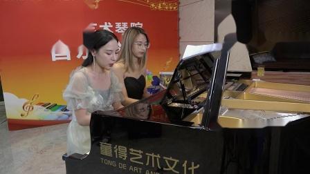 李滢君 邓玥《春节序曲》童得艺术琴院