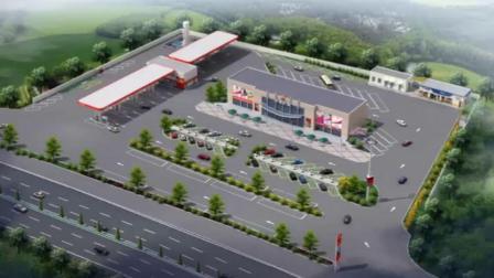 加油加气站设计 加油站规划设计 加气站设计