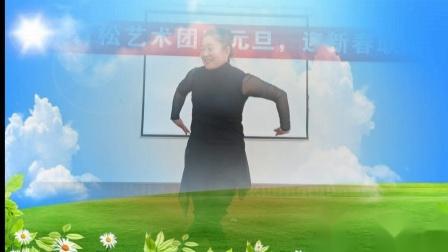 独舞《鸿雁》表演者:冯明