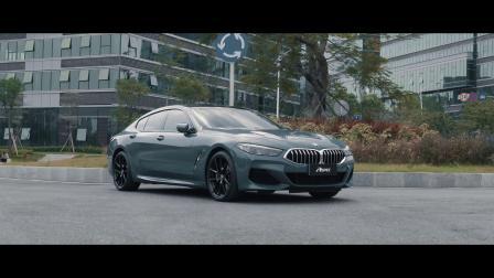 宝马BMW 840i G16升级ASPEC原厂协议阀门控制系统全段排气