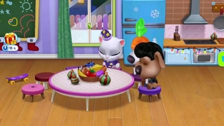 汤姆猫总动员游戏 大家一起拔萝卜