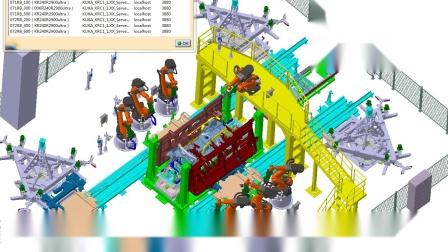 百福工业 总成焊接模拟录像