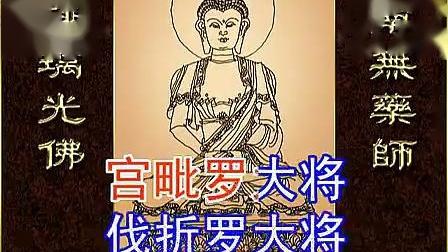 《药师琉璃光如来本愿功德经》   (国语简体横排大字幕)   善音居士读诵