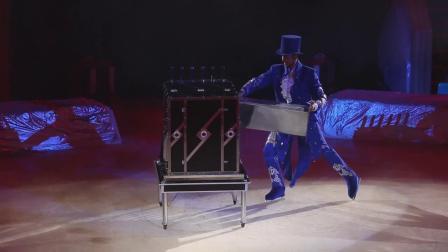 冰上大型魔术表演