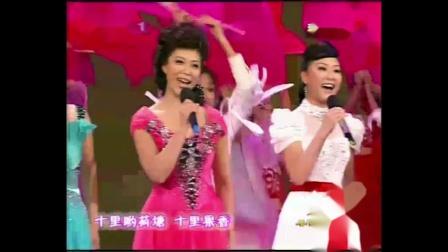【2009年春节联欢晚会】歌曲《在希望的田野上》常思思、阿鲁阿卓 等