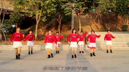 2021龙川思念广场舞姐妹演示:牛年牛哥你最牛