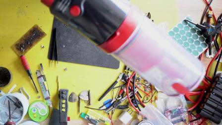 无线吸尘器电池更换改装大容量电芯分享 玮斯特吸尘器电池改装