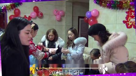 侯冠东先生@肖永红小姐结婚庆典纪录片(2021.01.21)