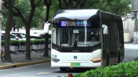 上海公交 巴士五公司 51路 S2Y-0153