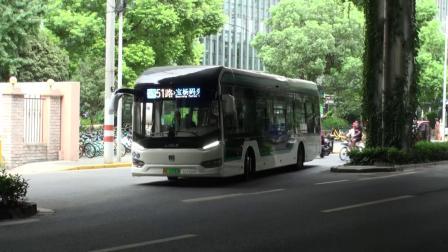 上海公交 巴士五公司 51路 S2Y-0051