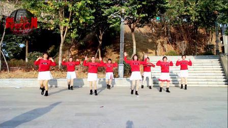 2021龙川思念广场舞个人版演示:一辈子开心最重要