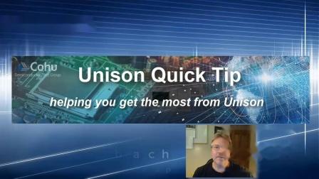 Saving TestTime Using Unison MatchLoop