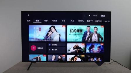 2021款索尼电视x80J开箱体验 搭载全新Android10系统