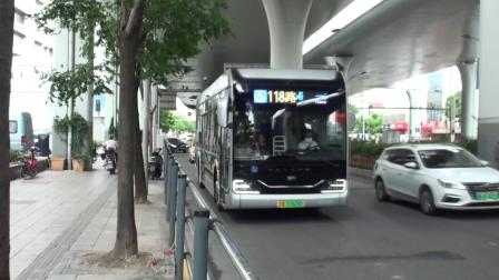 上海公交 巴士五公司 118路 Z0A-0526