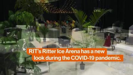 The Local Chill at RIT-冰上竞技场改造为临时学生活动中心