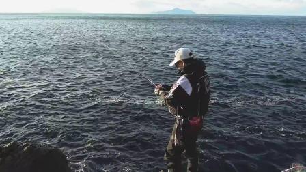 武者泊的激热点!!城本尚史在地方的海岸是一个极端的钓鱼。