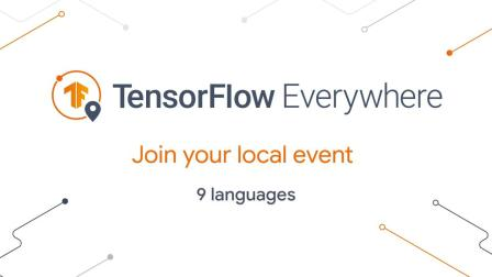 Join us at TensorFlow Everywhere
