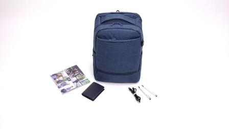 RIVACASE 8365 carry-on Laptop backpack 17.3
