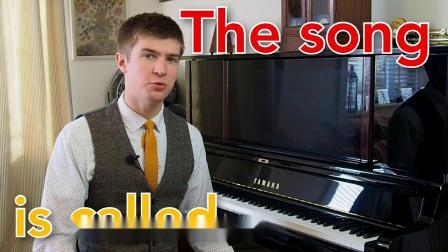英国钢琴Will第1课 - 基础钢琴和英语技巧