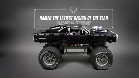 乐高 Dodge Charger 4x4 BIGFOOT RC in snow LEGO积木砖家评测