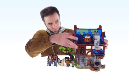 乐高21325 Ideas Medieval Blacksmith LEGO积木砖家评测