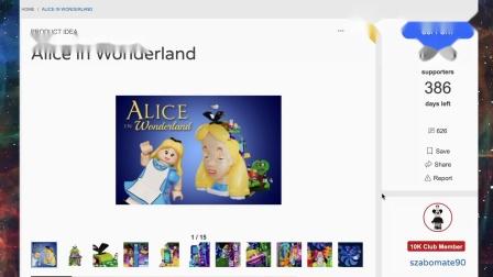 乐高 Alice in Wonderland Ideas Project by szabomate90 LEGO积木砖家速拼