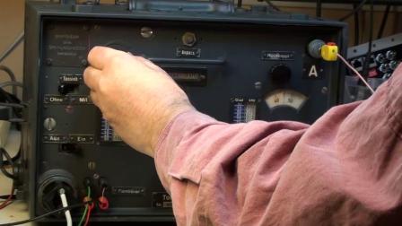 Torn.E.b, German WW2 radio receiver test