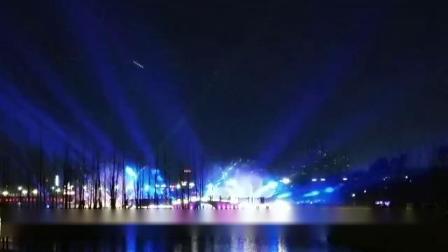 中央公园灯光秀