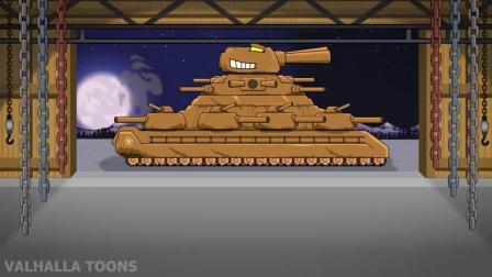 坦克世界动画:新的重型坦克之战