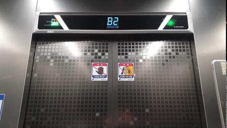 乐华韩国分部公司的电梯