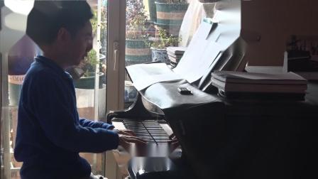 沈文裕演奏巴赫《赋格的艺术》对位曲4 BWV1080,4