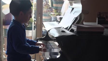 沈文裕演奏巴赫《赋格的艺术》对位曲4 从容版