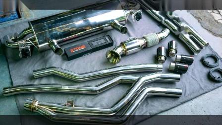 BMW G30 B58 540i  Stone Turbo-back Exhaust System