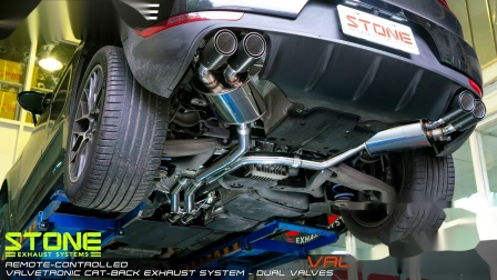 Porsche Macan S 3.0t  Stone Cat-back Exhaust System