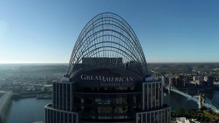 俄亥俄 辛辛那提 无人机街拍 Cincinnati, Ohio Drone Footage