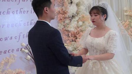 冯西航王晓蔓婚礼全片20210217
