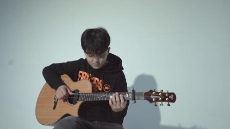 WAGF 指弹冠军 演奏《圣诞结》 杨楚骁 乌托邦吉他银杏