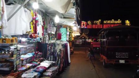 【到處逛逛】柬埔寨的吳哥夜市 Angkor night market 暹粒藝術夜市 體驗在地的不夜城風情