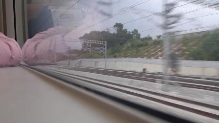 【2020年】广深港高铁 - 广州南站 → 福田站[右侧车窗]