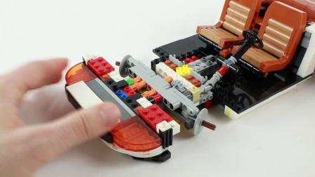 乐高10295 Porsche 911 Turbo/Targa LEGO积木砖家速拼