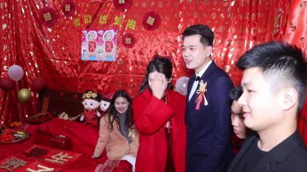 张鹏腾 张丽榕婚正月初三