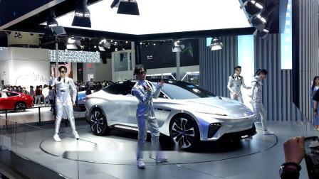 2020第18届广州车展现场歌舞表演16