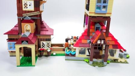 乐高 Harry Potter The Burrow Comparison 2010 VS 2020 LEGO积木砖家评测