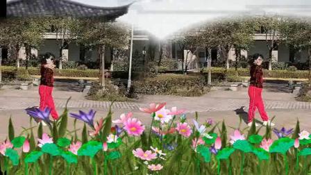 2021.02.21荷珍江阴苏龙苑小区学跳形体舞《老父亲》2