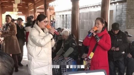 陆建萍等在宁波西塘河公园演唱【柳毅传书 瑚滨惜别】选段