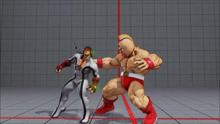 Space Ryu dominated by Kinnikuman