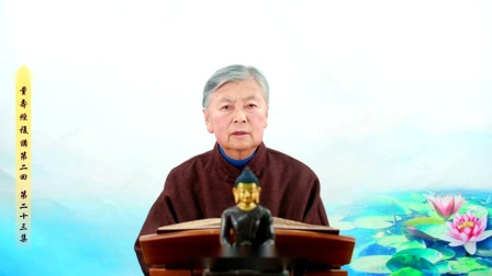 刘素云老师第二回复讲《无量寿经》第二十三集 高清(480p)