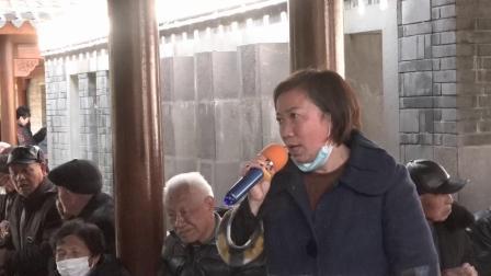 甬剧【拔兰花 东方日出照窗外】 陈晓凤在宁波西塘公园演唱